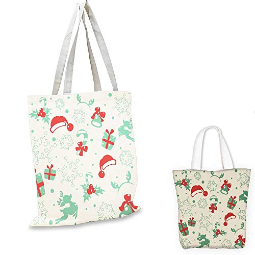 Christmas wallpaper shopping tote bag travel shopping bag