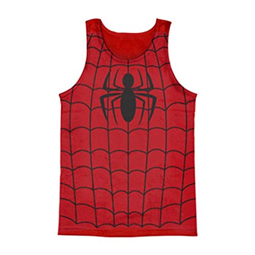 spider-man+tank+tops Products : Spiderman Costume Tank Top