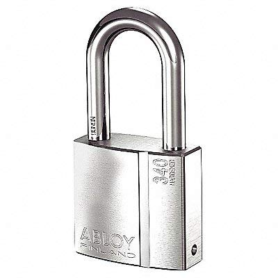 Keyed Padlock, Different, 2-15/64''W by Abloy (Image #1)