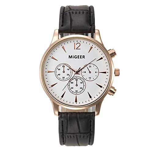 brand new 37873 0bb9d Amazon | 腕時計 メンズ Luguojun 安い 軽い うで時計 大文字盤 ...