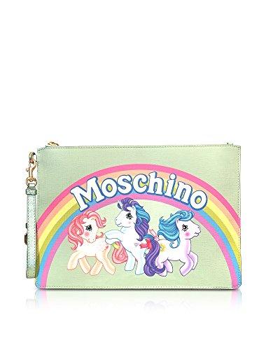 Moschino Pochette Donna 84998261A1397 Poliuretano Verde