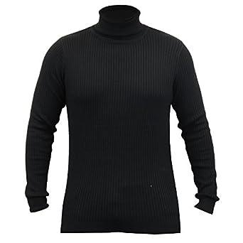 choisir le dernier classique acheter pas cher Brave Soul Pull Homme Polo Tricot Col Roulé Pull Col Haut ...