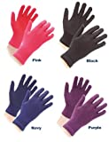 Shires Women's Equestrian Sure Grip Horse Riding Gloves, Black, One Size