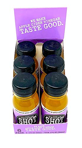 The Twisted Shot - Organic Apple Cider Vinegar shot with Turmeric, Ginger, Cinnamon, Honey & Cayenne - 6-pack of 2oz shots by The Twisted Shrub (Image #6)