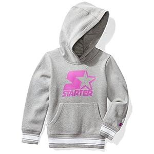 Starter Girls' Pullover Logo Hoodie, Amazon Exclusive