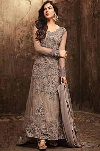 14837eba07 India/Pakistani ReadyMade Embroidered Long Anarkali Suit for womens Maisa  New 2018