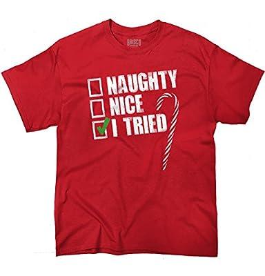 Naughty Humor Christmas Funny Shirts Gift Ideas T-Shirt Tee