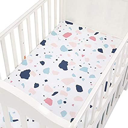 Fitted Sheet Baby Crib Cot Bed Mattress Sheets Bedding Nursery Toddler Boy Girl