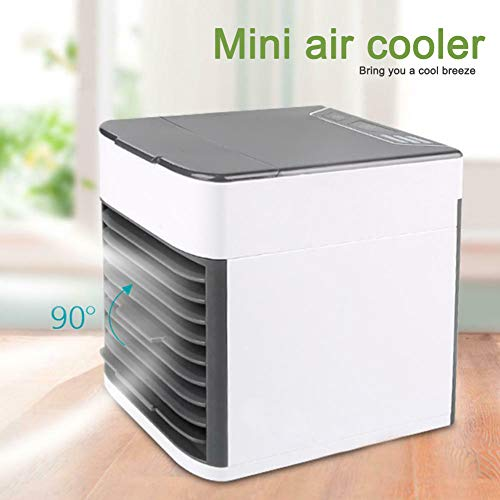 Misszhang-US Arctic Air Ultra Mini Electric USB Speed Adjustable Air Cooler Fan Humidifier White