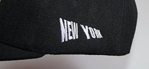 para béisbol Premium Headwear NY Gorra schwarz de hombre IBq6q7t
