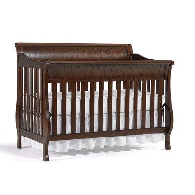 amazon com europa baby andover convertible crib chocolate rh amazon com Lauren Classic Crib Model Number Graco Lauren Classic Crib Walnut