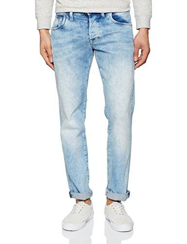 Denim Pepe para Azul Hombre Jeans Jeanius Vaqueros M82 SYUqTYrwn
