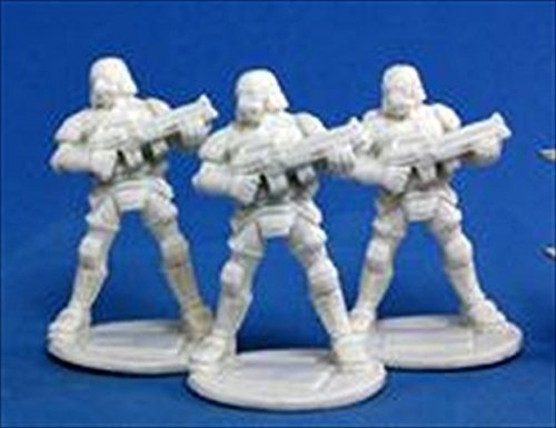 Reaper Miniatures 80012 Bones - Chrono Nova Corp Soldier 3 Miniature by Reaper