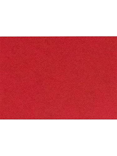 A7 Flat Card (5 1/8 x 7) - Ruby Red (1000 Qty.) by Envelopes Store
