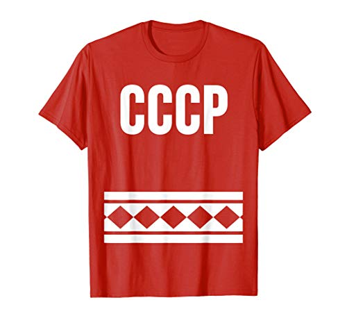 Mens CCCP Trump 45 Russian Collusion Hockey Jersey T Shirt 3527199be