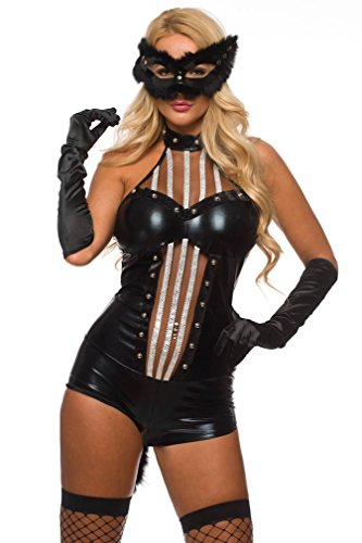 Velvet Kitten Kitty Kat Cutie Sexy Costume for Women 9732 (One Size fits Most, -