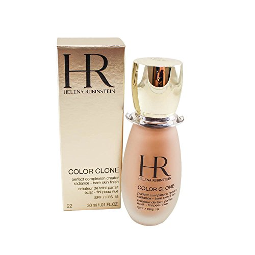 Helena Rubinstein Color Clone Perfect Complexion Creator Spf 15, No. 22 Beige Apricot, 1.01 (Helena Rubinstein Spf 15 Foundation)