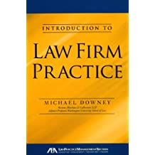 Amazon michael downey books introduction to law firm practice fandeluxe Image collections