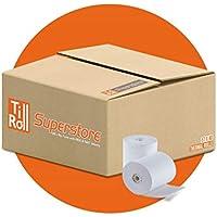 Caja con 20 rollos de papel térmico (57