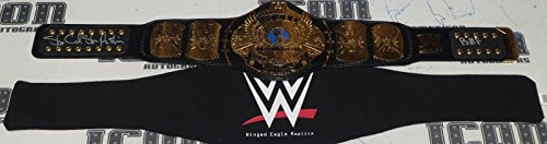 Stone Cold Steve Austin Signed WWE Winged Eagle Replica Title Belt BAS COA BMF - Beckett Authentication