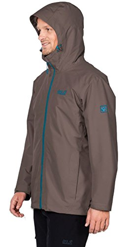 Men's Wolfskin Jack Quilted Jacket Morning Pinewood Chilly tZ4xSqA