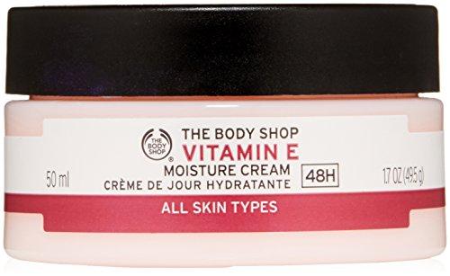The Body Shop Vitamin E Moisture Cream, Paraben-Free Facial Cream, 1.7 Oz.