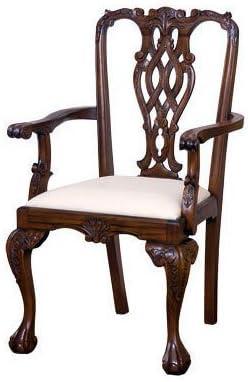 www.laurelcrown.com Massachusetts Chippendale Armchair