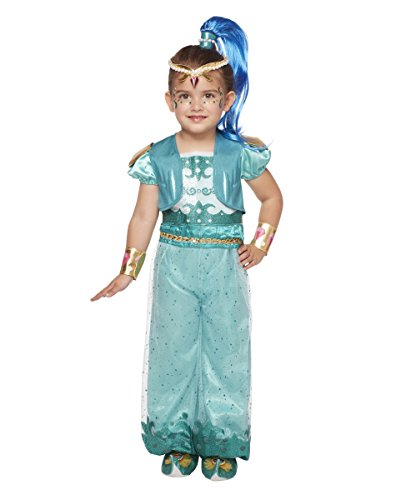 Spirit Halloween Toddler Shine Costume Deluxe - Shimmer and Shine ,size 2/4]()