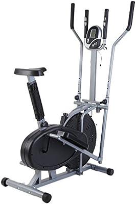 2 en 1 bicicleta elíptica estacionaria bicicleta de ejercicio ...