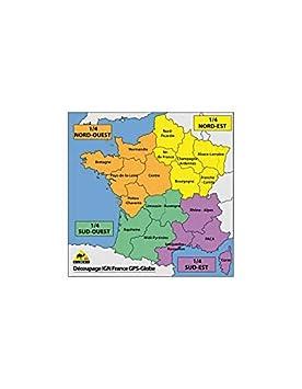 Motodak Tarjeta IGN GPS Globe 1/4 Francia noroeste 1/25000e ...