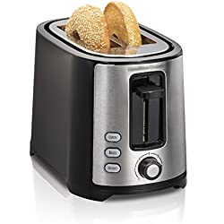 Hamilton Beach Beach Extra-Wide 2 Slice Slot Toaster, Black (22633)