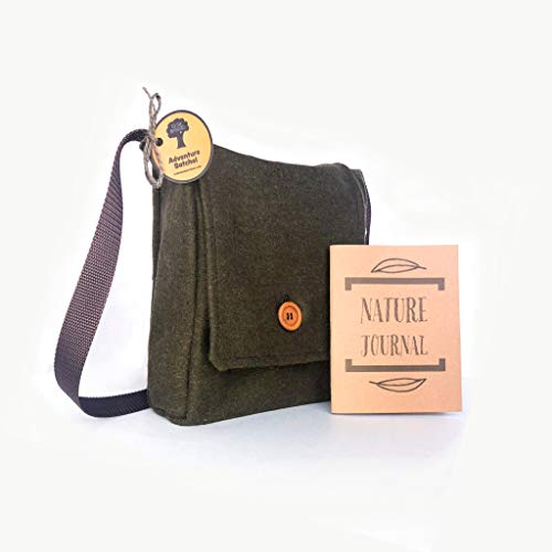 Children's Hiking Satchel with Nature Journal