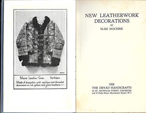 New leatherwork decorations