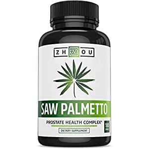 Saw Palmetto Supplement For Prostate Health - Extract & Berry Powder Complex To Promote Healthy Urination Frequency & Flow - May Help Naturally Block DHT - 500mg Capsules