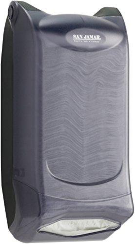 San Jamar H5004P Venue Wall Mount Mini Interfold Napkin Dispenser, 600 Capacity, 8'' Width x 15-3/4'' Height x 5-9/10'' Depth, Clear by San Jamar (Image #8)