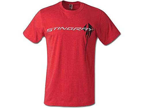 Corvette C7 Stingray Chest Logo T-Shirt Red X-Large