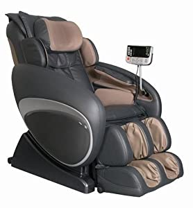 Amazon Com Os 4000 Zero Gravity Heated Reclining Massage Chair Upholstery Brown Black Health