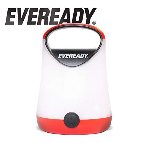 Eveready LED Camping Lantern Flashlight, 200 Lumens, 80 Hour Run-Time, Use for Hurricane Supplies, Camping Accessories, Survival Kits