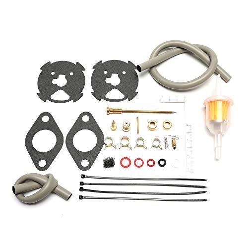 (Carburetor Rebuild kit for Zenith 13216 13260 13261 13262 13263 Replaces ONAN 141-0747)