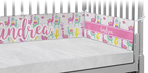 Llamas Crib Bumper Pads (Personalized) by RNK Shops
