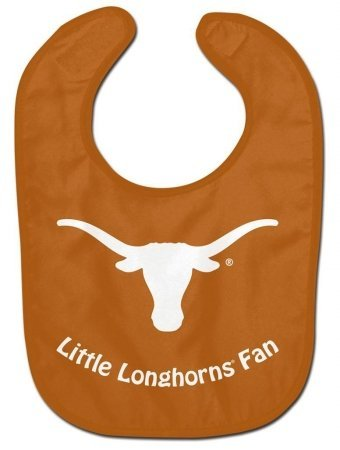 WinCraft NCAA University of Texas WCRA2015314 All Pro Baby Bib