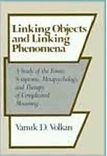 Linking Objects and Linking Phenomena