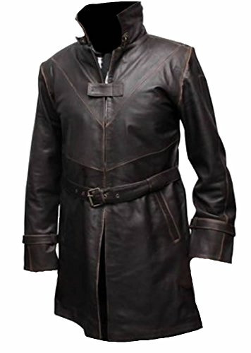 Para Coolhides Brown Abrigo Real Hombre Leather 55anr