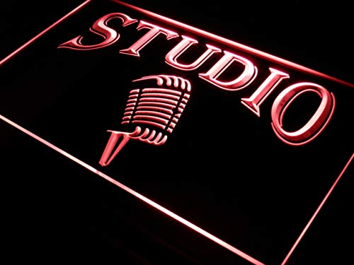 ADVPRO Cartel Luminoso i587-r Studio On The Air Microphone ...
