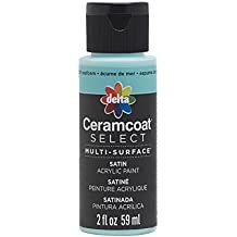 Plaid Delta 04021 Ceramcoat Select Multi-Surface Paint, 2 oz, Seafoam