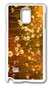 Adorable dandelions field Hard Case Protective Shell Cell Phone Samsung Galaxy S6 - PC White