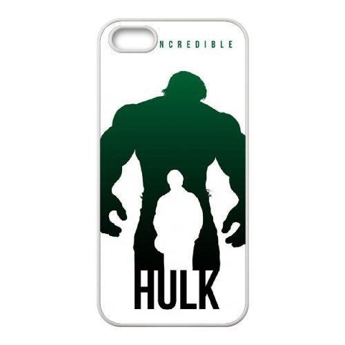 The Incredible Hulk Art Poster coque iPhone 4 4S cellulaire cas coque de téléphone cas blanche couverture de téléphone portable EOKXLLNCD20144