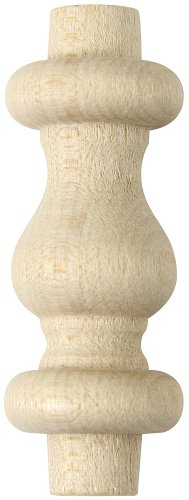 (Platte River 801709, 5-Pack, Wood Specialties, Spindles & Finials, 1-1/2