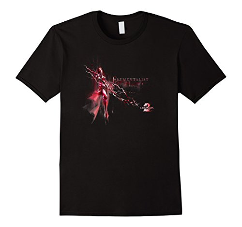 Mens Official Guild Wars 2 Elementalist T-shirt 2XL (Guild Wars Shirt)