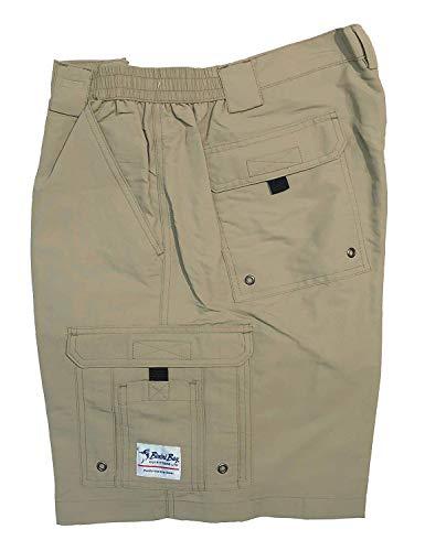 Boca Bay (Bimini Bay Outfitters Men's Boca Grande II Nylon Short (2-Pack), Khaki, 38)